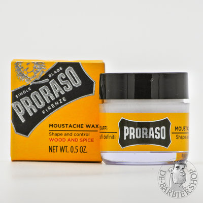 "Proraso ""Wood & Spice Moustache Wax"""