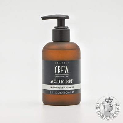 "American Crew AcuMen ""In-Shower Face Wash"""